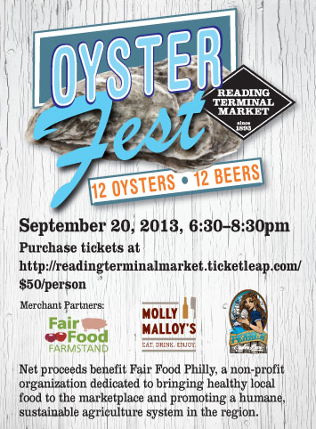 Oyster Fest 9/20