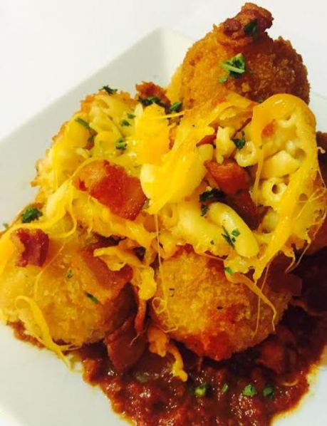 International Bacon Day ARTICLE - Saturday before Labor Day - bacon mac & cheese balls #1